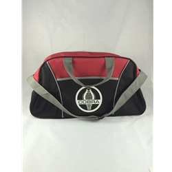 duffle bag with shelby cobra logo