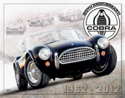 Shelby Cobra 50th Anniversary Sign