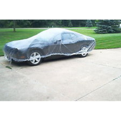 Car Cover - Clear Plastic