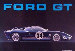 GT-40 Poster