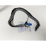 Black and White Lanyard Keys/ID Lanyard