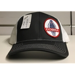 Grey & White Hat with Cobra Logo