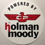 Round Holman Moody Decal 6""
