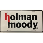 Holman Moody License Plate