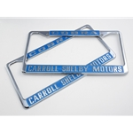 License Plate Frame - Shelby Motors