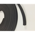 inner panel  black foam rubber lining