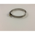 metal air vent hose clamp