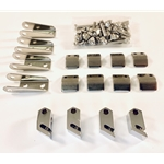 Windshield Sun Visor Hardware Kit