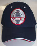 Hat Navy Cobra Logo