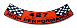 427 High Performance Decal